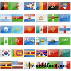 Flags Of The World Icons