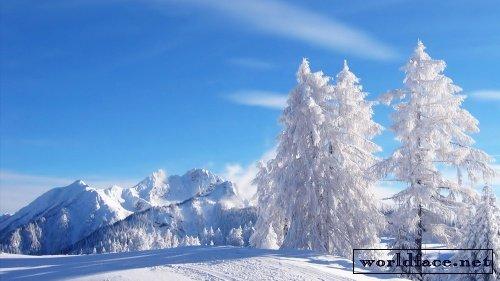 картинки на экран рабочего стола зима № 482103 загрузить