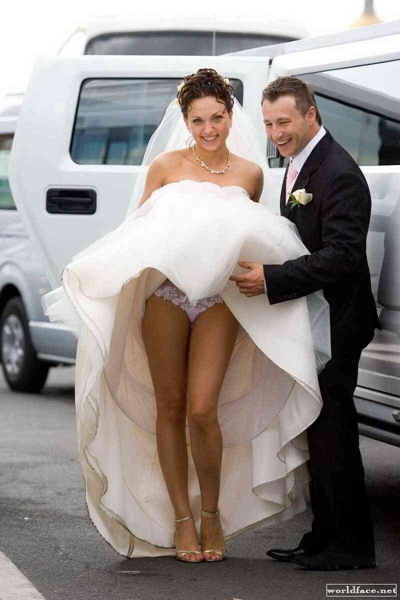 У невест белые трусики 12 фотография