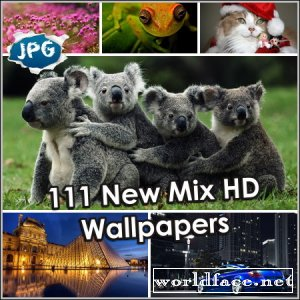111 New Mix HD Wallpapers (2013)